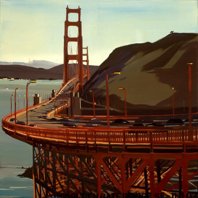 Peinture des ponts américains par Michelle AUBOIRON