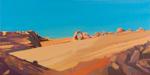 Peinture de l'Ouest américain par Michelle Auboiron - Delicate Arch - Arches National Park - Moab - Utah