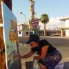 Michelle-Auboiron-Motels-of-the-50-s-peinture-live-a-Las-Vegas-4 thumbnail