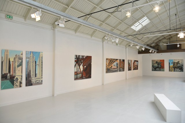 Exposition CHICAGO Express - Espace Commines - Paris - 2015 - Photo Charles GUY