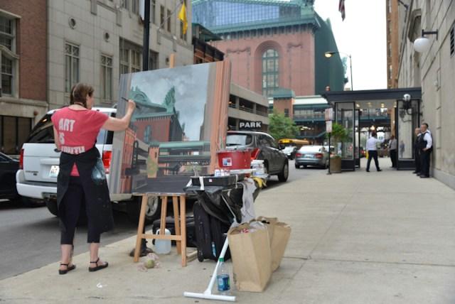 Peintures-live-de-Chicago-par-Michelle-AUBOIRON-34
