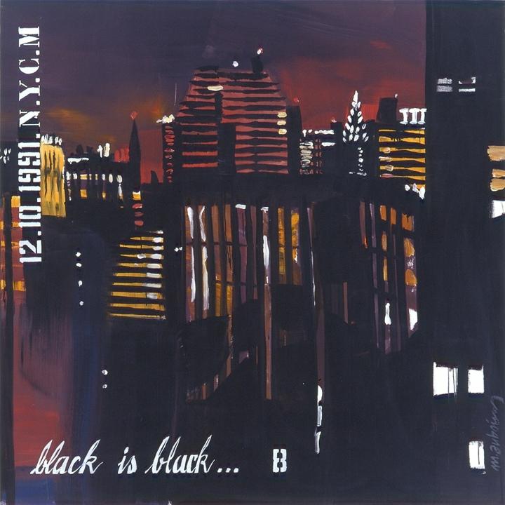 Parker Meridien 08 - Peinture de New York par Michelle AUBOIRON