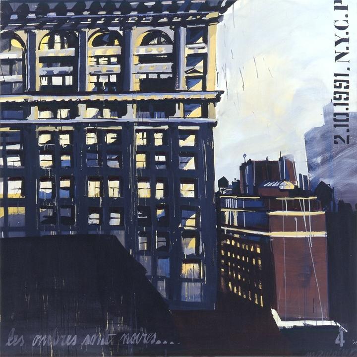Parson School of Design 04 - Peinture de New York par Michelle AUBOIRON