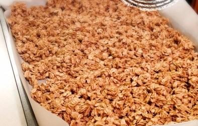Granola au beurre d'arachide - Auboutdelalangue.com