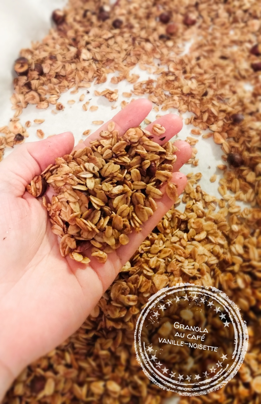 Granola au café vanille-noisette - Auboutdelalangue.com