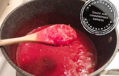 Sauce aux canneberges express - Auboutdelalangue.com