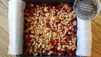 Carrés aux fraises style croustade - Auboutdelalangue.com