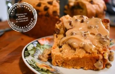 Gâteau au beurre d'arachide et chocolat - Auboutdelalangue.com