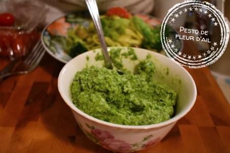 Pesto de fleur d'ail - Auboutdelalangue.com