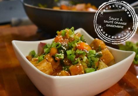 Sauce à sauté orange gingembre - Auboutdelalangue.com