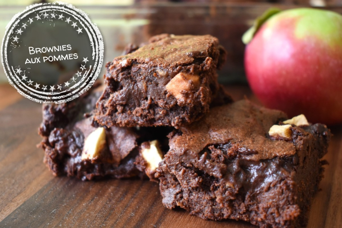 Brownies aux pommes (recette réconfort par excellence)