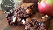 Brownies aux pommes - Auboutdelalangue.com