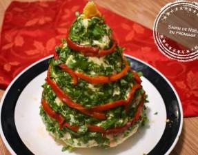 Sapin de Noël en fromage - Auboutdelalangue.com