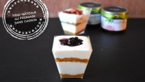 Mini-gâteaux au fromage sans cuisson - Auboutdelalangue.com