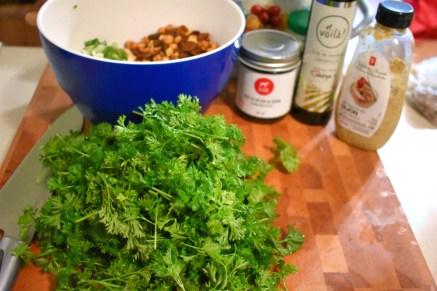 Salade de couscous, vinaigrette au thé vert et safran - Auboutdelalangue.com (2)