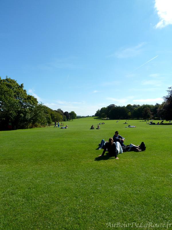 Parc du chateau de kilkenny