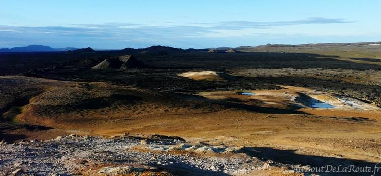 Panorama sur Leirhnjúkur