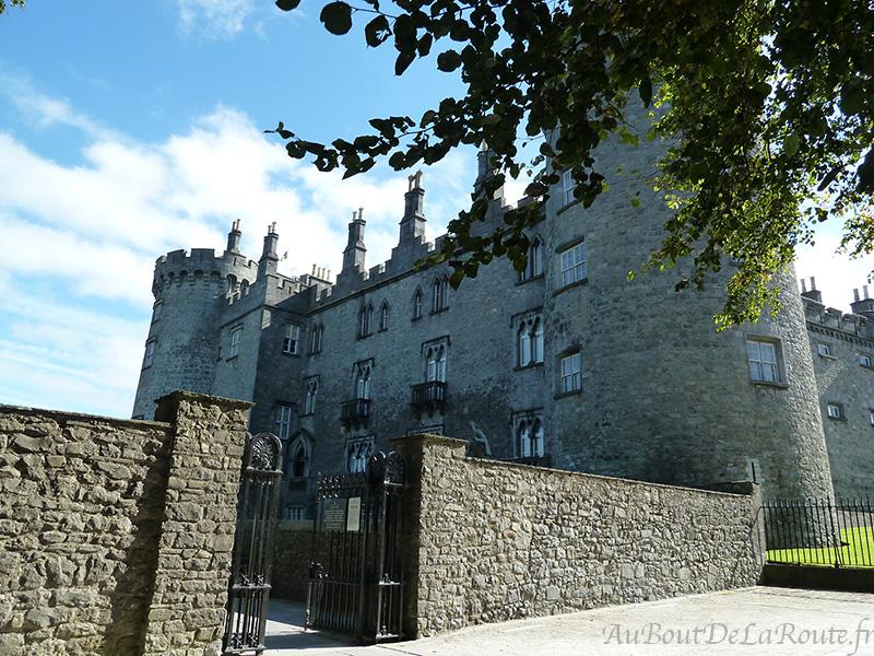 Château de Kilkenny entrée