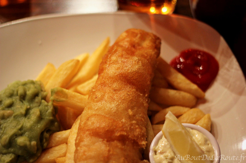 Fish & Chips au Colston Yard