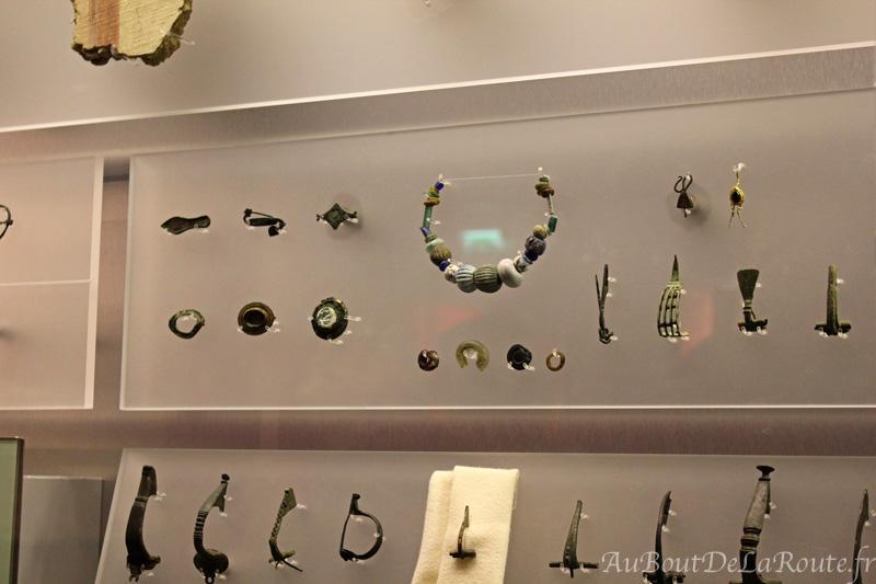 Collection de bijoux romains