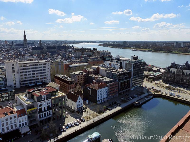 Vue sur Anvers