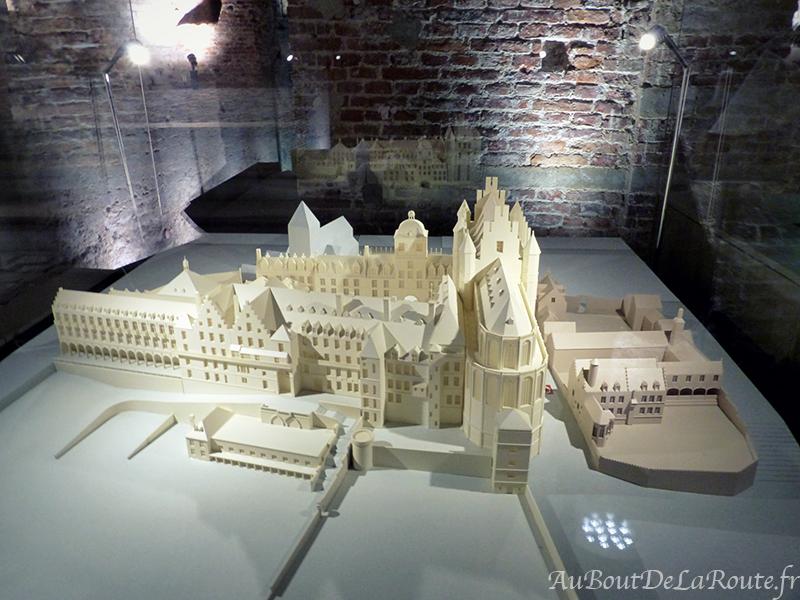 Maquette du Palais Ducal