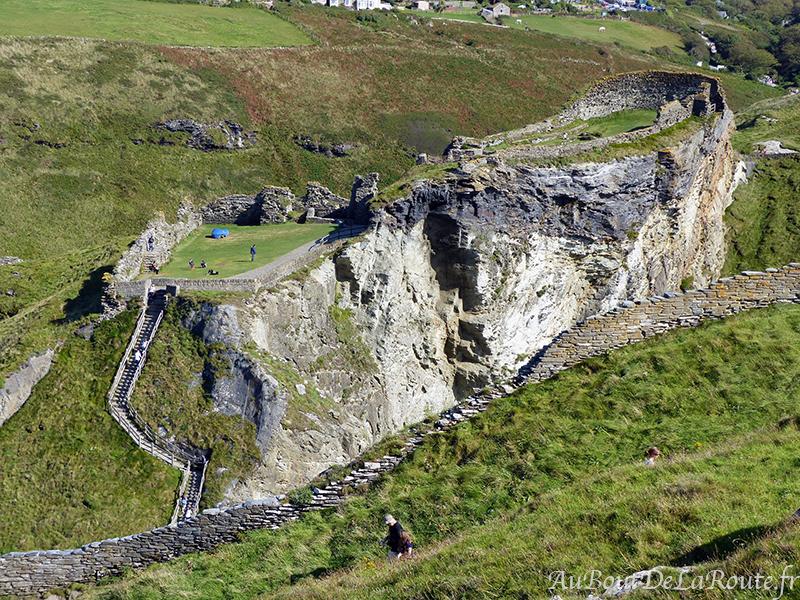 Mainland du château de Tintagel