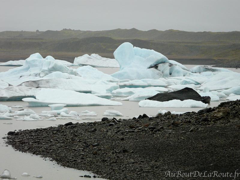 Icebergs du Fjallsarlon