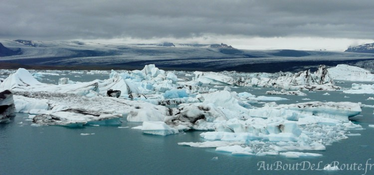 Lagune glaciaire du Jökulsárlón