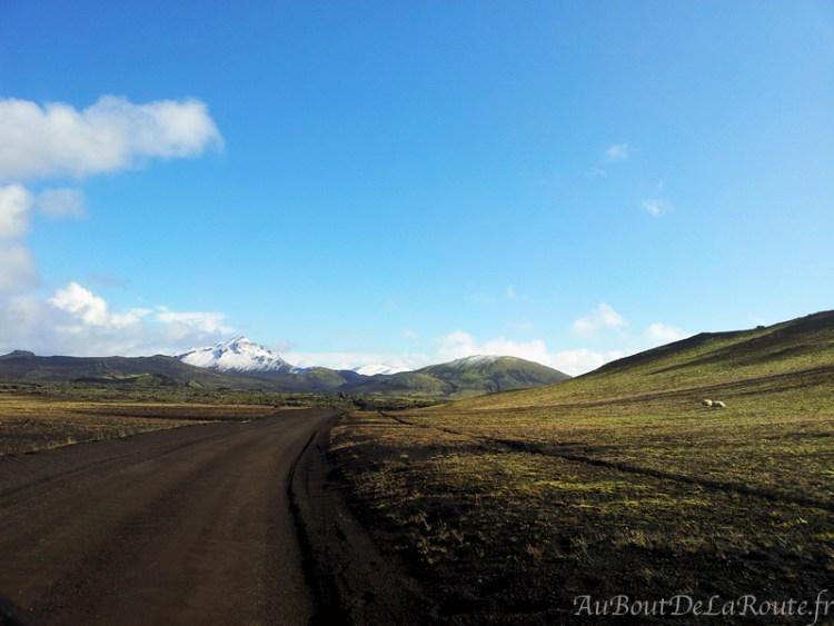 Piste F225, Islande