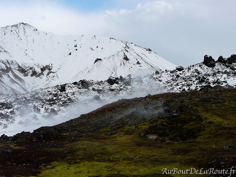 le Mont Blahnukur depuis Graenagil
