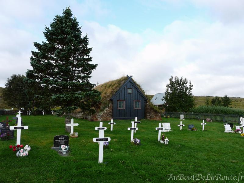 Cimetière de l église Víðimýri