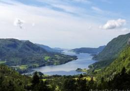 Point de vue Brekka sur le Arvagsfjorden 2