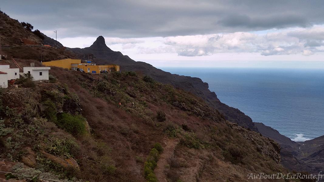 Vue sur El Taborno et la plage