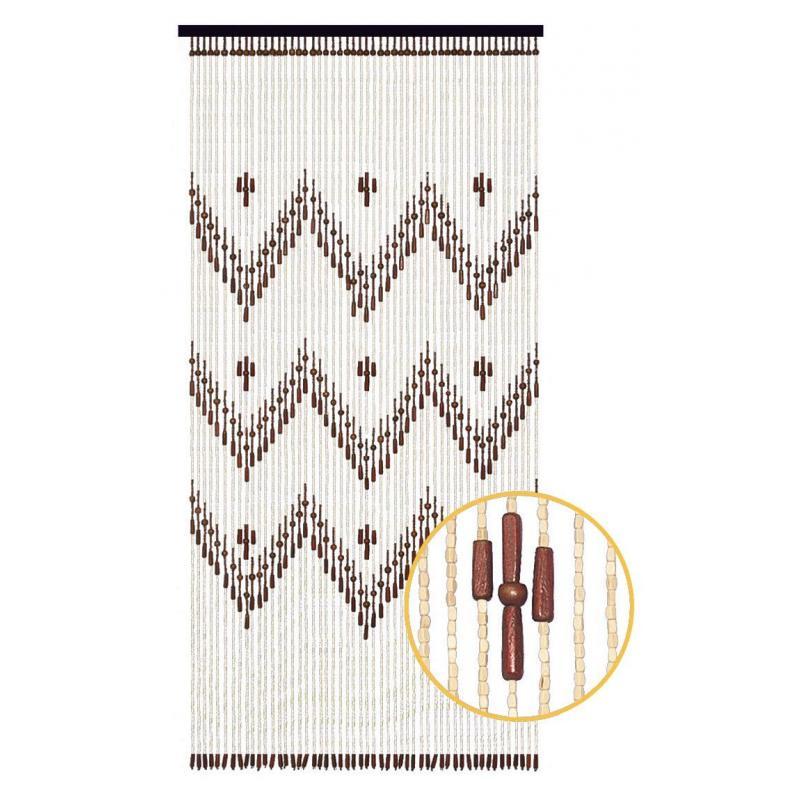 rideau de porte en bois a motif ethnique nri1960 aubry gaspard