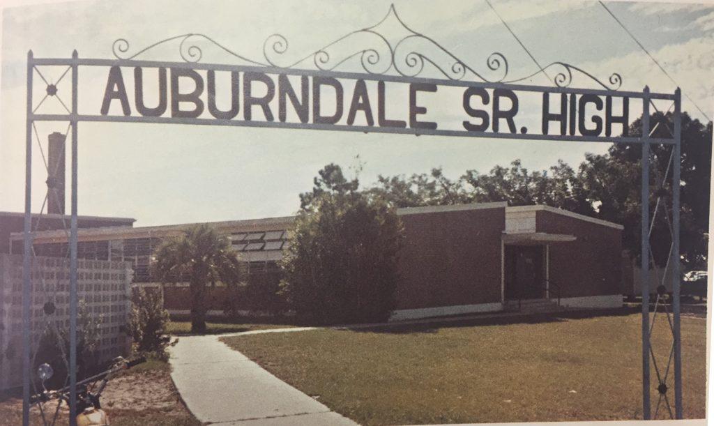 AHS sign 1974