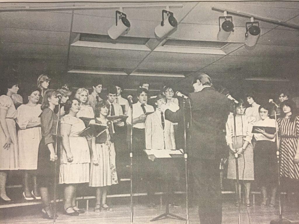 AJHS chorus, 1983