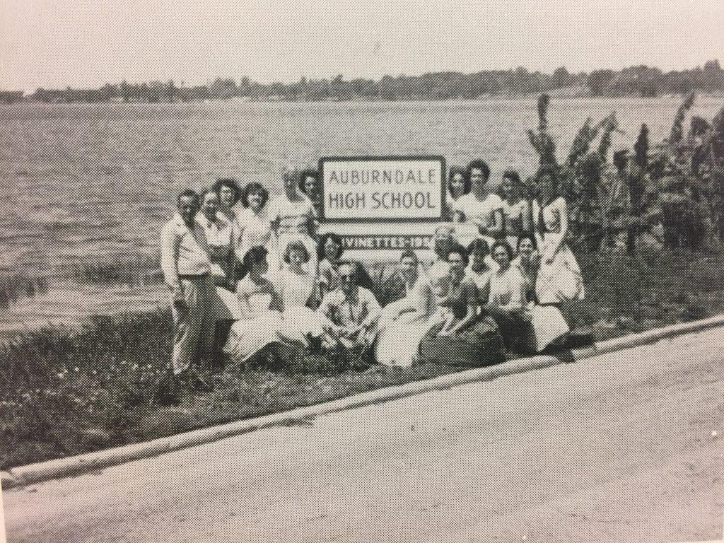 Original sign on Lake Ariana Blvd, 195X