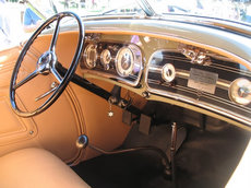 Auburn Speedster Photo Gallery I Original Auburn 851   852 Speedster interior