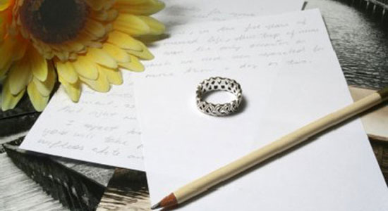 Personalised wedding vows