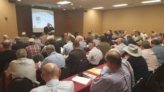 Spanky Assiter teaching auctioneers