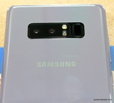 Samsung Galaxy Note8 cameras