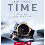 Kepp Track of Time | Me's and Ladies Dress & Casual Watches | BID NOW! $9 Start