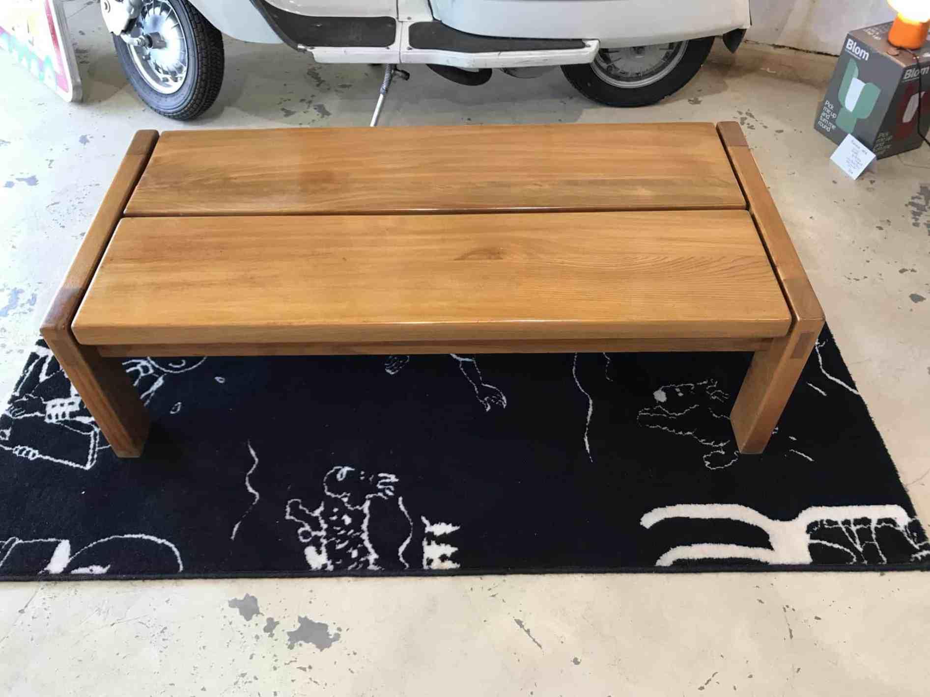 Pierre Chapo Table Basse Ou Banc Maison Regain