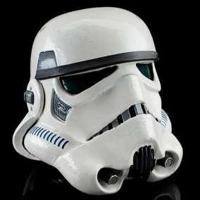 Lot #727 - Screen-Matched Tantive IV Stormtrooper Helmet  Star Wars: A New Hope (1977)