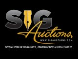 Sig Auctions Special Daily Auctions End Each Day August 22-28, 2016