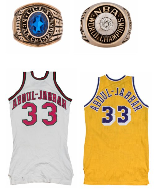 The Kareem Abdul-Jabbar Collection Headlines Goldin Auctions 2018 ... 48ad37507
