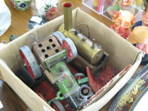Mamod Steam Roller, Stationery Engine and various parts