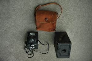 Vintage Cameras: Box Ensign & Ensign Ful-Vue