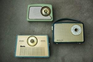 Portable Radios: Fidelity, Dansette & Perdio
